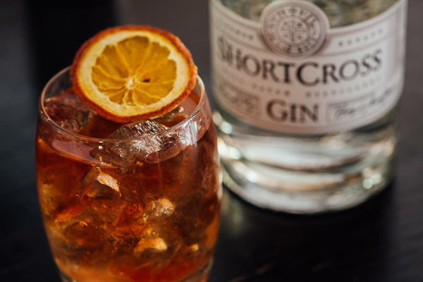 shortcross gin old fashioned