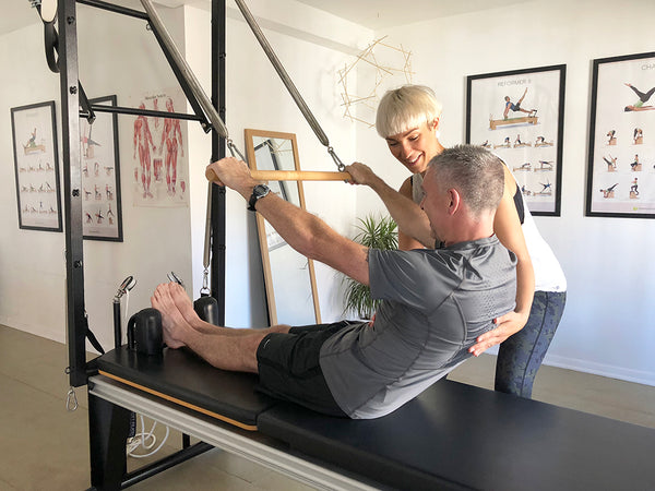 neil and cat from margate pilates
