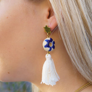 Artisans & Adventurers ceramic fair trade, ethically produced earrings