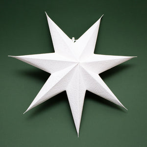 Cotton Paper Star Light 'Snow White'