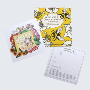Artisans & Adventurers Gift Voucher