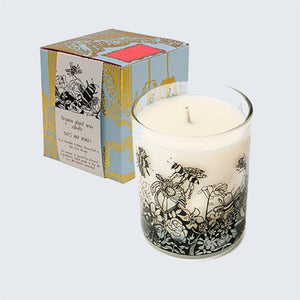 ARTHOUSE Unlimited Organic Plant Wax Candle 'Bee Free Oats & Honey'