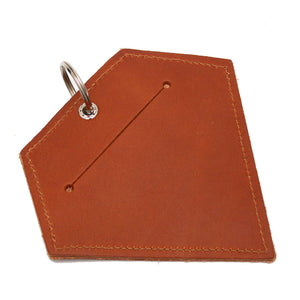 Poo Pouch Diamond 'Brown Leather'