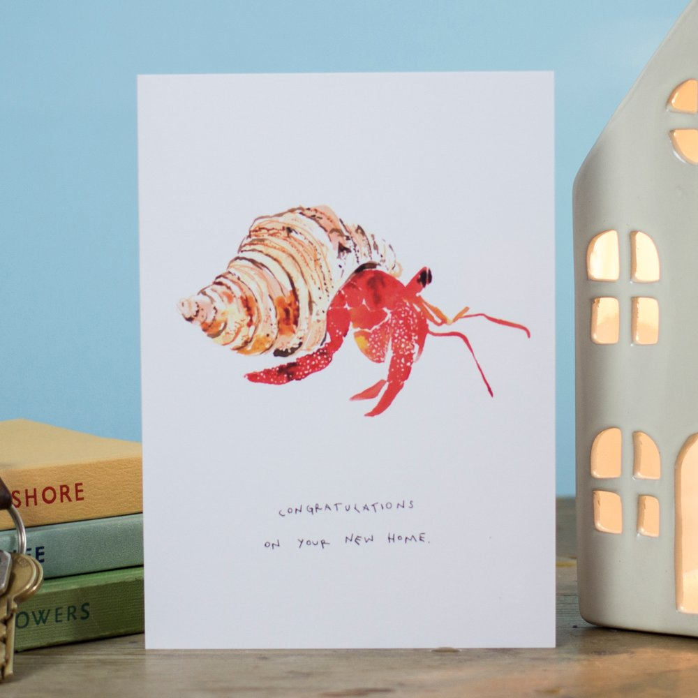 LIZ TEMPERLEY Congratulations On Your New Home Greeting Card