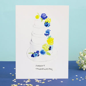 LIZ TEMPERLEY Sweeeet Congratulations Greeting Card