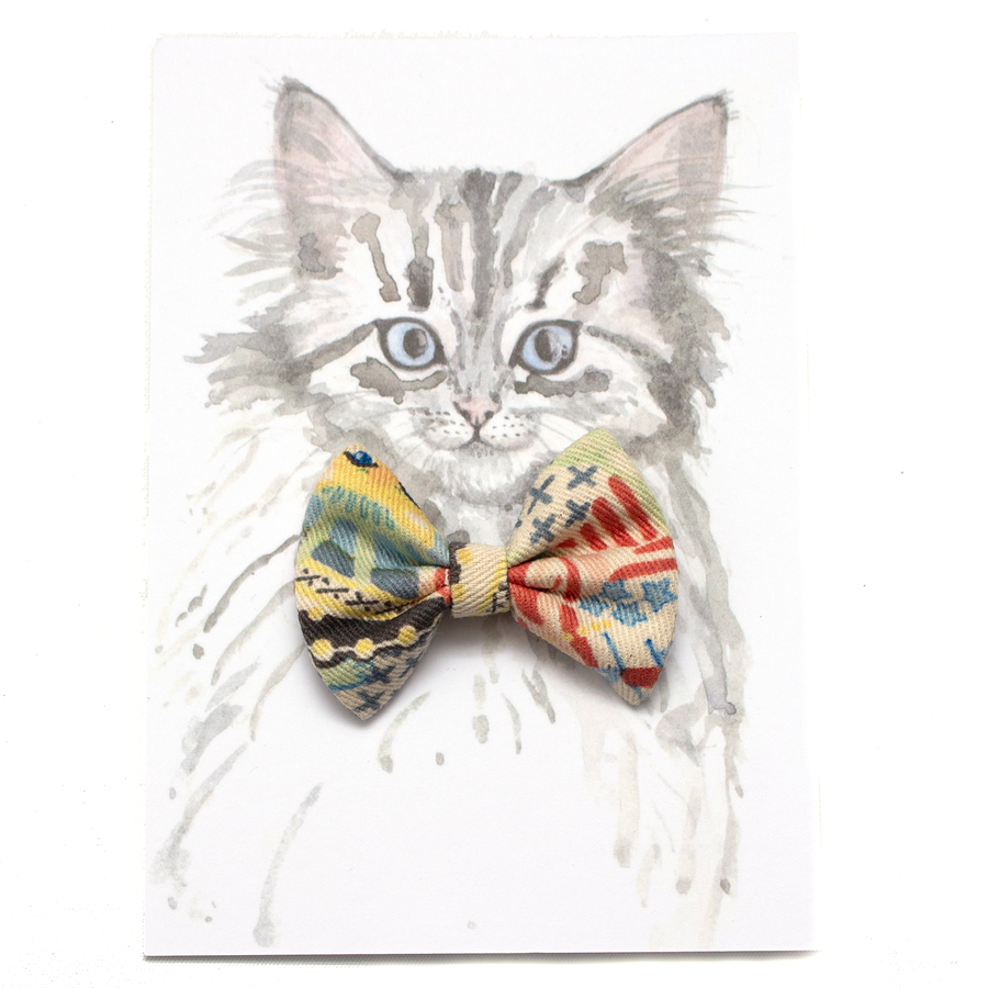 New York! New York! Cat Bow Tie