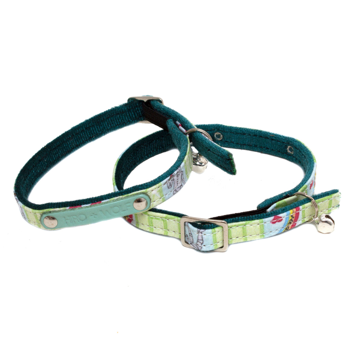 Emerald City Cat Collar
