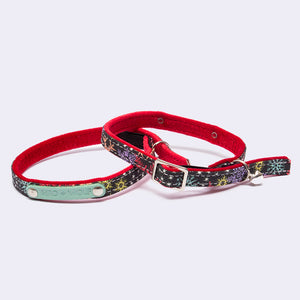 Christmas Snowflakes Cat Collar