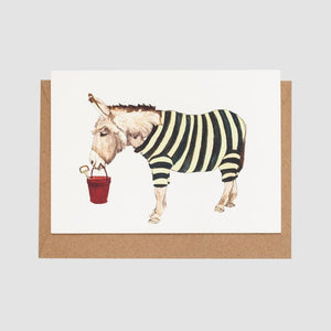Mister Peebles Greeting Card 'Life's A Beach'