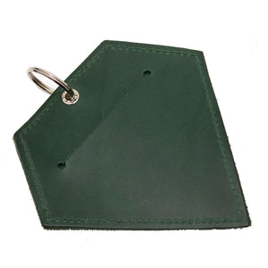 Poo Pouch Diamond 'Green Leather'