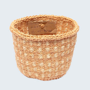 Kenyan Sisal Basket 'Mini Hope' No.63