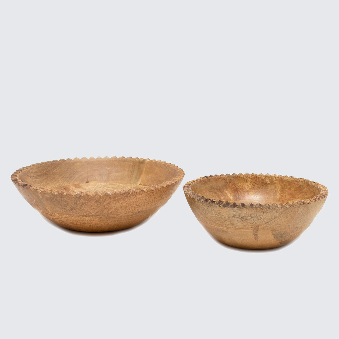 Mango Wood Indian Monkey Puzzle Bowl 'Large'