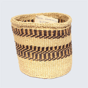 Kenyan Sisal Basket 'Julia Tan' No.104