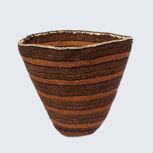 Kenyan Traditional Sisal Basket 'Pyramid'