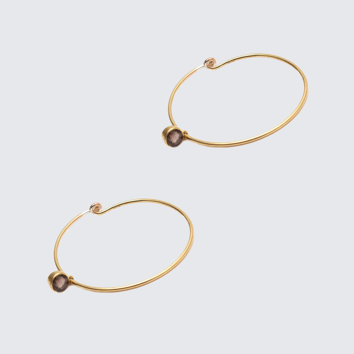 Lakshmi Hoop Earrings