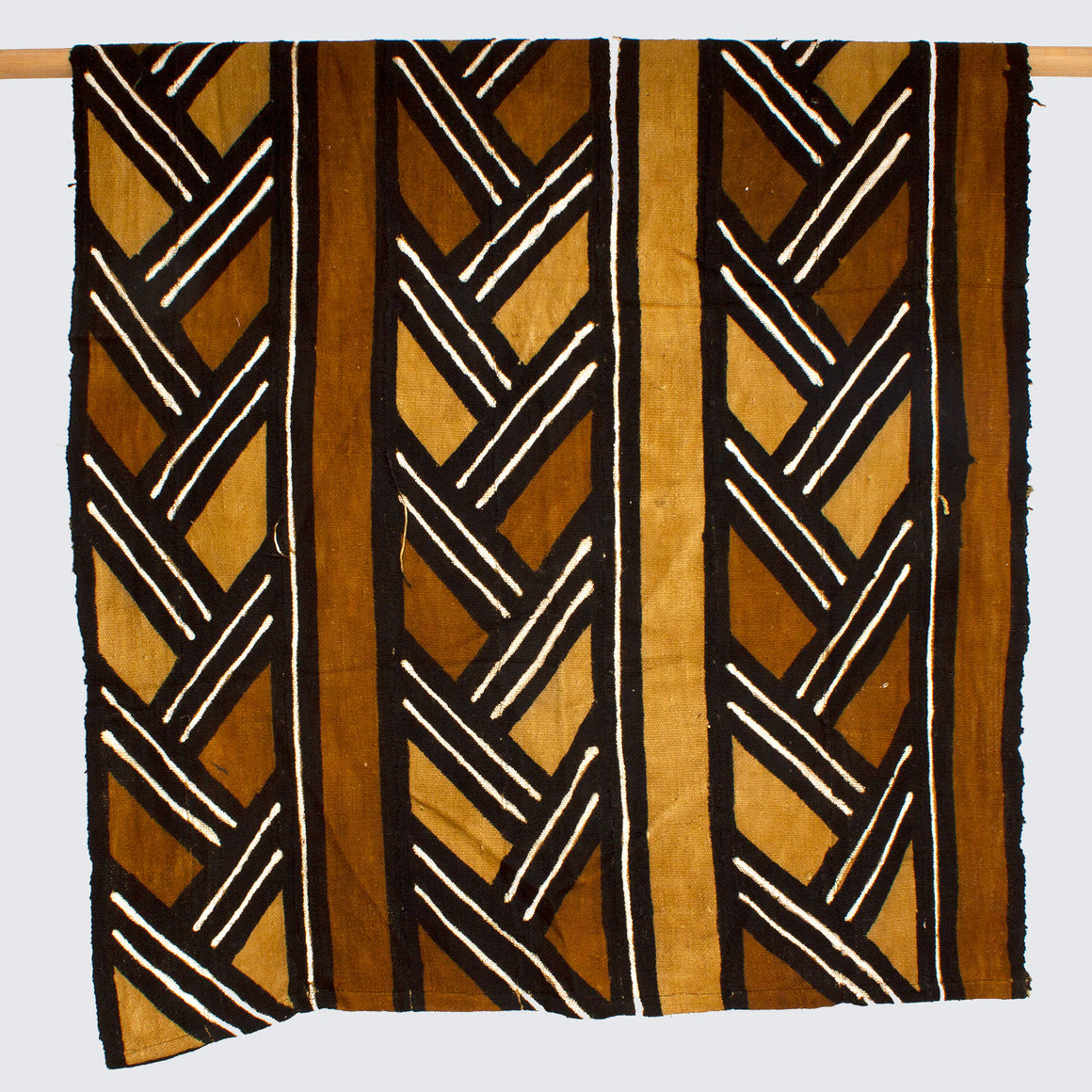 West African Bògòlanfini Mud Cloth 'Mali Plait'