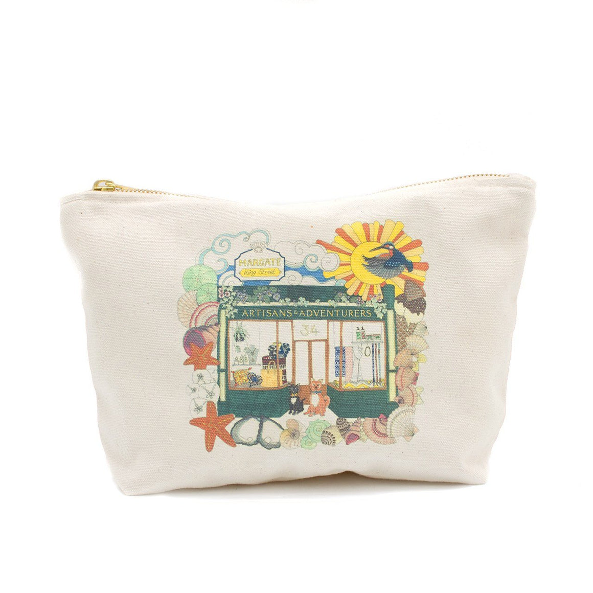 A&A Illustrated Pouch Margate