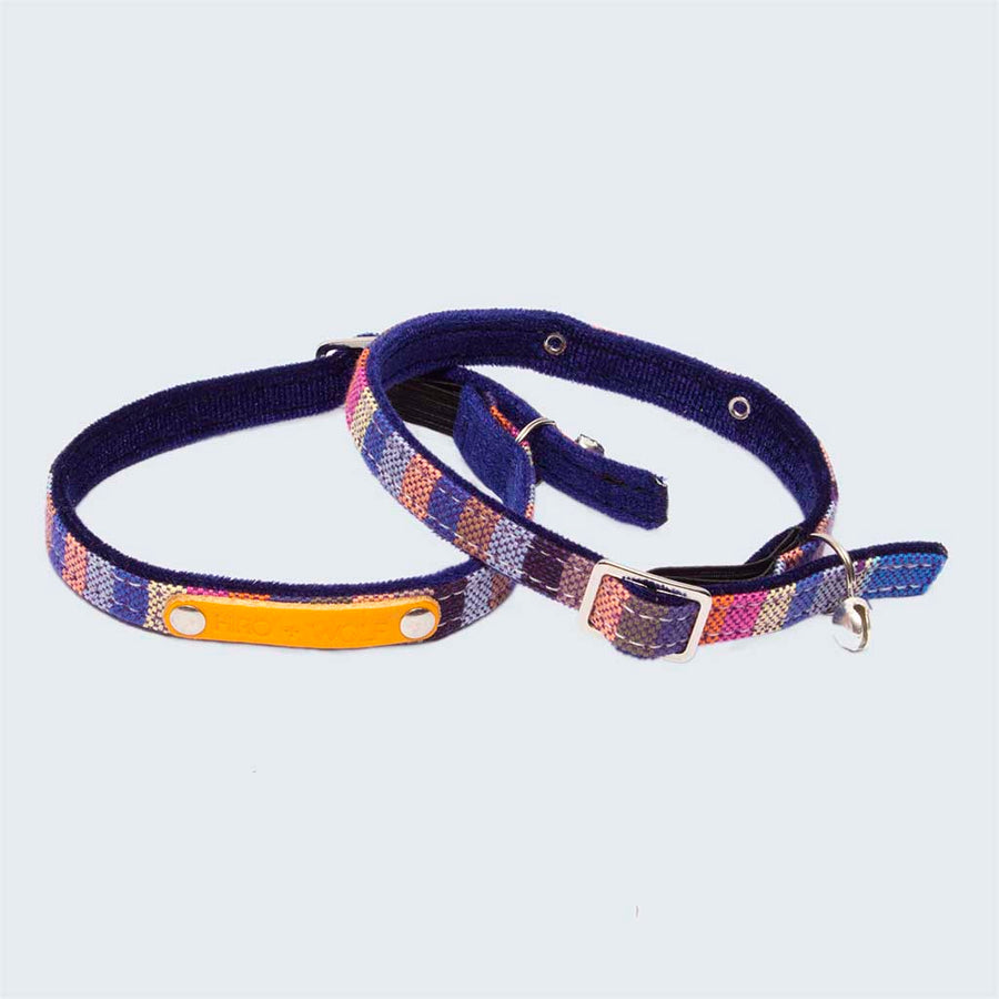 Marine Kikoy Cat Collar