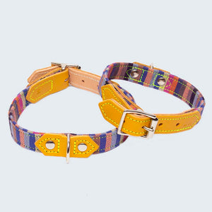 Marine Kikoy Dog Collar