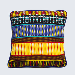 Senegal 45cm x 45cm Piped Cushion Cover
