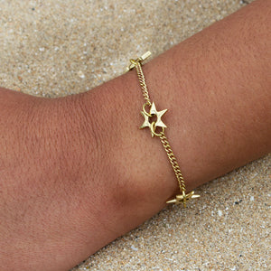 Shooting Star Charm Bracelet