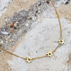 Shooting Star Charm Necklace