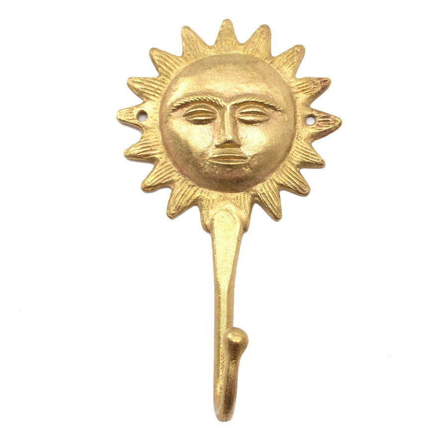 Ghanaian Ashanti Brass Hook 'Sunshine'