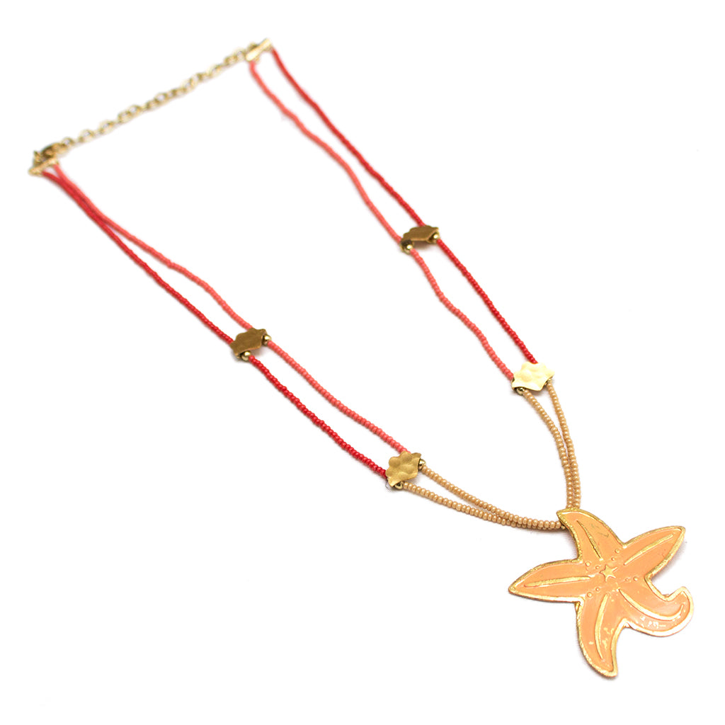 Ocean Collection Starfish Necklace