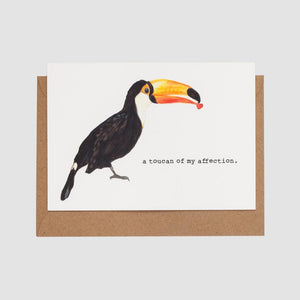 Mister Peebles Greeting Card 'Toucan Of My Affection'