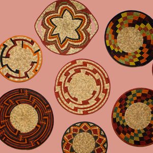 Uganda Craft Collection Plate 'Dish Twenty Eight'