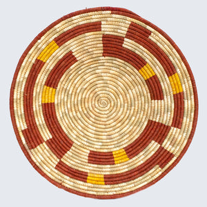 Uganda Craft Collection Basket 'Dish Twenty Eight'