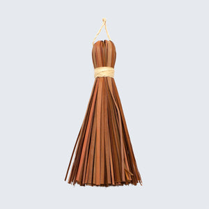Ugandan Decorative Tassel 'Brown'