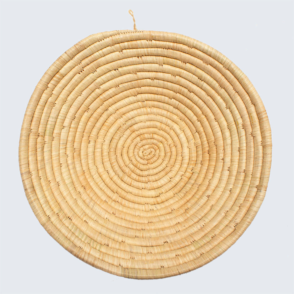Uganda Craft Collection Basket Bowl 'Natural Fruitbowl'