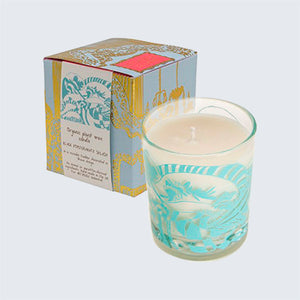 ARTHOUSE Unlimited Organic Plant Wax Candle 'The Wave Black Pomegranate'