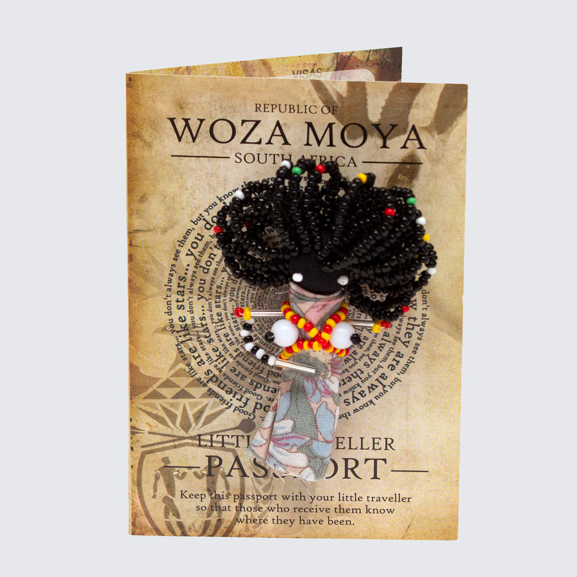 WOZA MOYA Little Traveller Pin Brooch 'Booby Ladies'