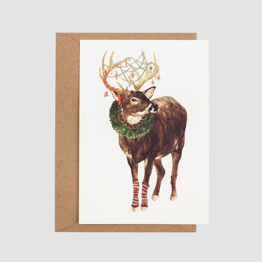 Mister Peebles Christmas Greeting Card 'Merry Christmas My Deer'