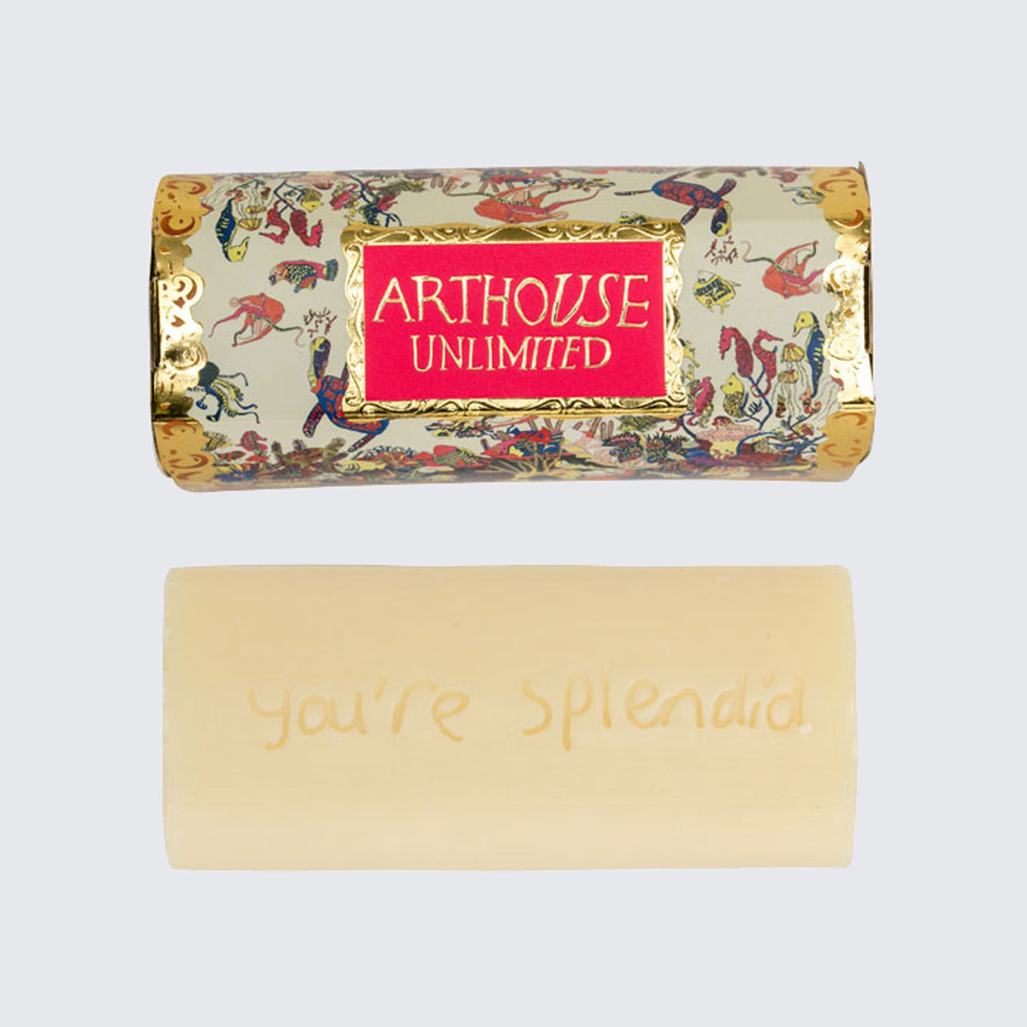 ARTHOUSE Unlimited Tubular Organic Soap Angels of the Deep 'Lavender and Citrus'