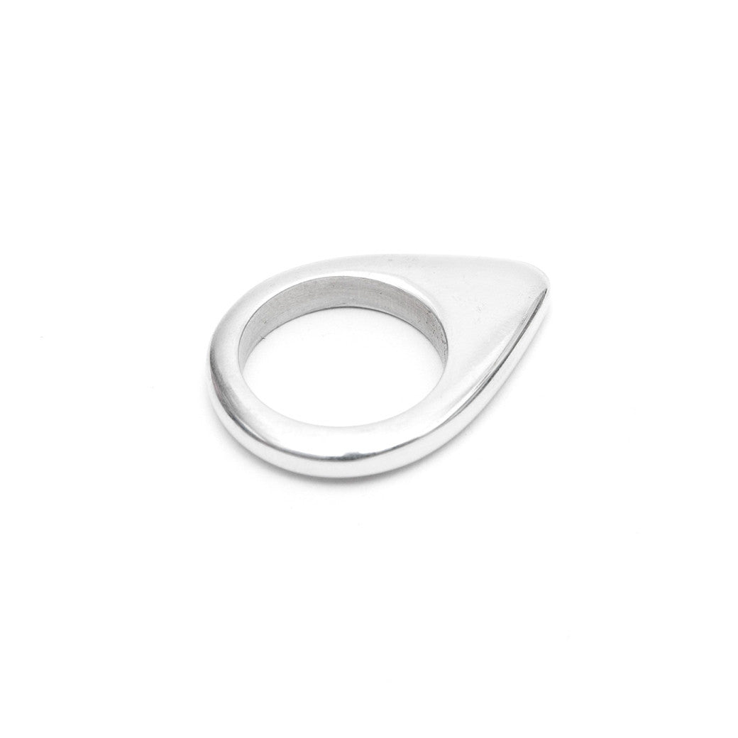 Signature Arrow Ring Aluminium