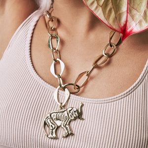 Tembo Large Link Chain Necklace