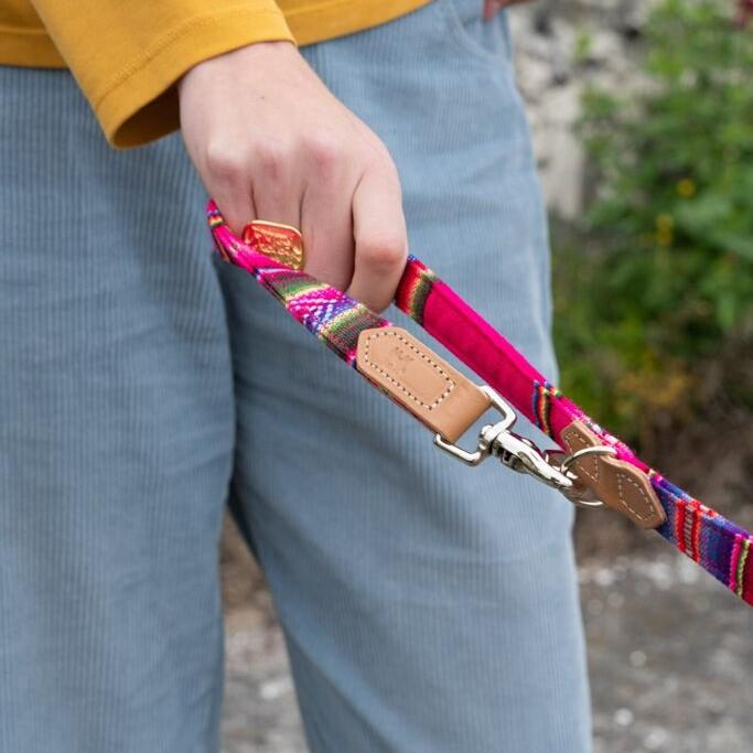 Inca Pink Cafe Dog Lead