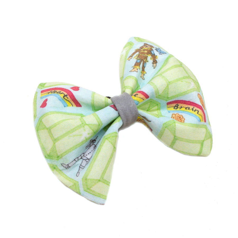 Emerald City Dog Bow Tie