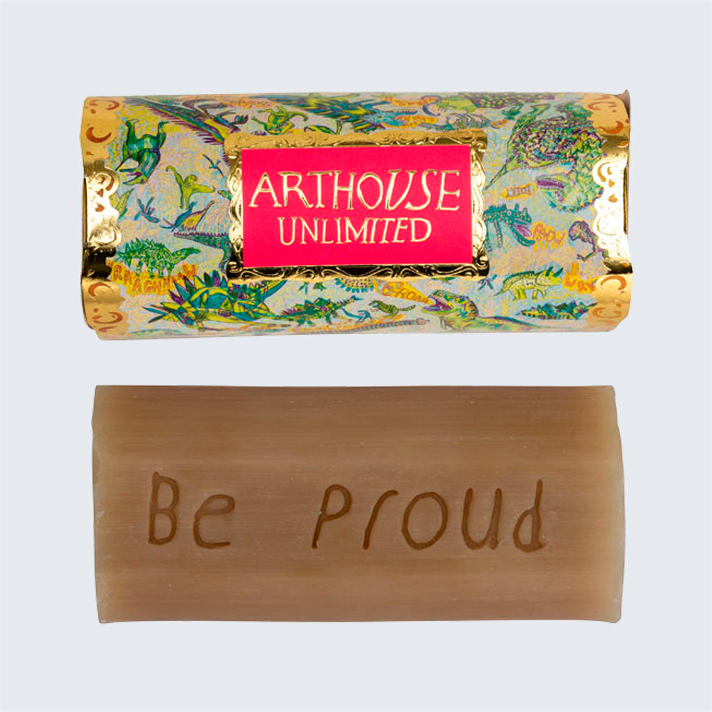 ARTHOUSE Unlimited Tubular Organic Soap Dinosaurs 'Rhubarb and Ginger'
