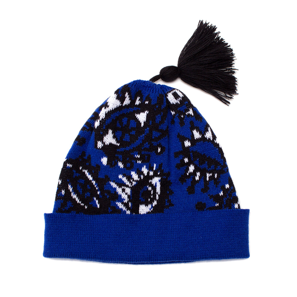 Artisans & Adventurers X Hiro + Wolf Knitted Bobble Hat 'Eyes'