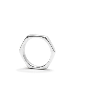 Hexagon Ring by Artisans and Adventurers - ethically sourced and produced in Kenya