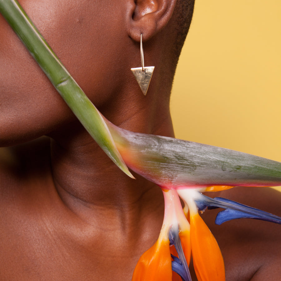 Artisans & Adventurers ethical jewellery collection london and triangle shaped jewellery