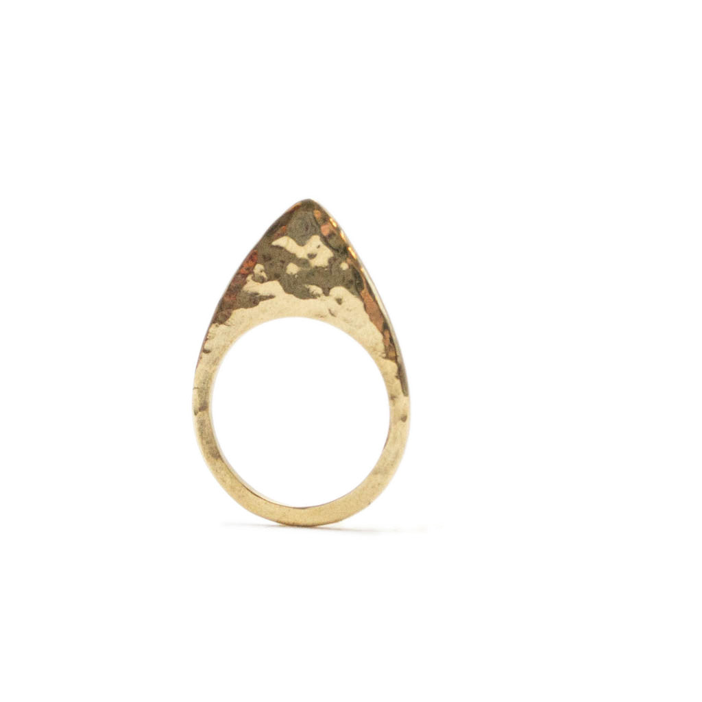arrow textured ring by Artisans & Adventurers