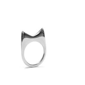 Signature Mamba Ring Aluminium by Artisans & Adventurers - ethical fashion jewellery made in Kenya