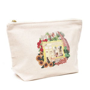 A&A Illustrated Pouch London