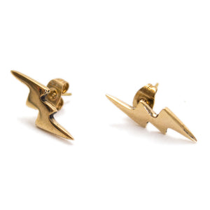 "Ethical fashion ""Sprite"" lightning bolt earrings by Artisans & Adventurers"