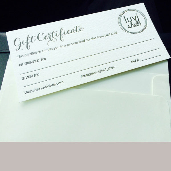 Gift Card - Luvi Shell